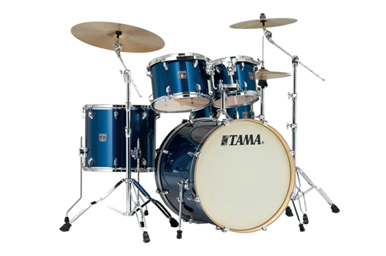 Tama Superstar Classic CK48S Drum Set (Indigo Sparkle)