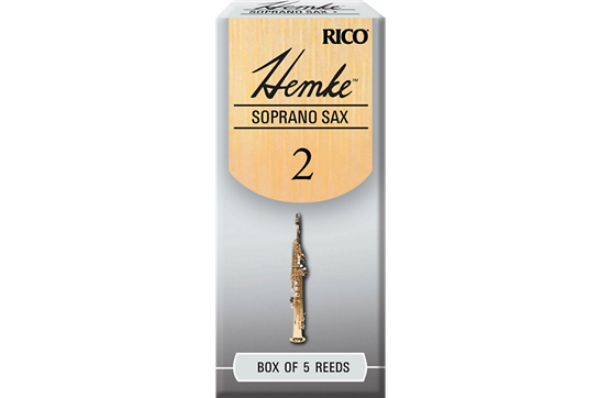 Hemke Soprano Saxophone Reeds Strength 2 (Box of 5)