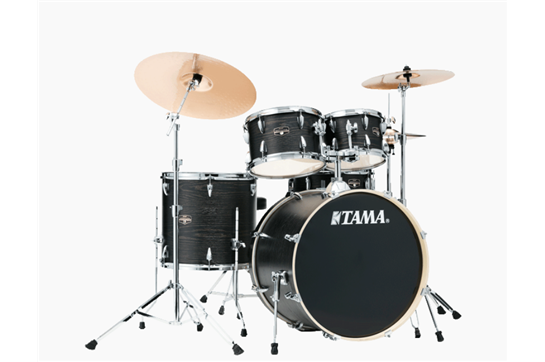 Tama Imperialstar Drumset (Black Oak Wrap)