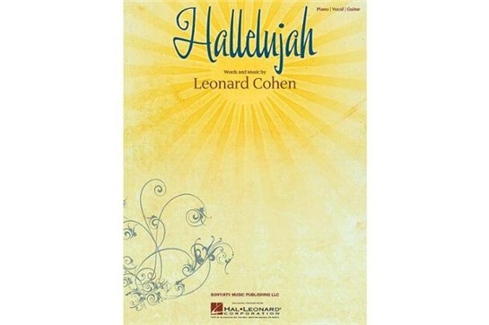 Hallelujah by Leonard Cohen Piano Solo Sheet Music