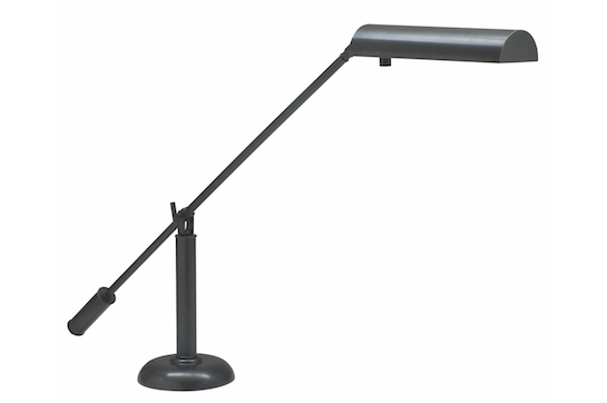 House of Troy Halogen Piano Lamp (Oil Rubbed Bronze)