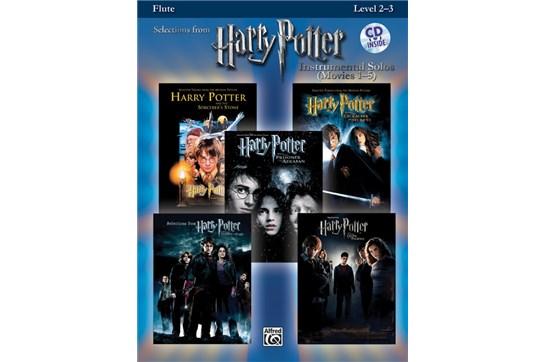 Harry Potter Instrumental Solos (Movies 1-5) Arr. various, ed. Bill Galliford Flute Book & CD
