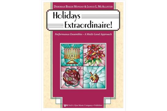 Holidays Extraordinaire! (Bass)