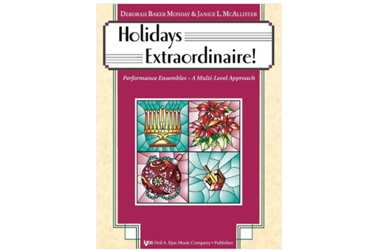 Holidays Extraordinaire! (Cello)