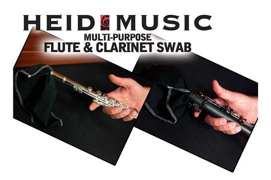 Heid Music Flute & Clarinet Handkerchief Swab