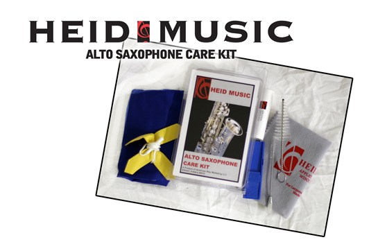 Heid Music Alto Saxophone Care Kit