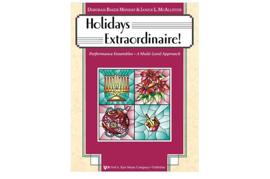 Holidays Extraordinaire! (Piano)