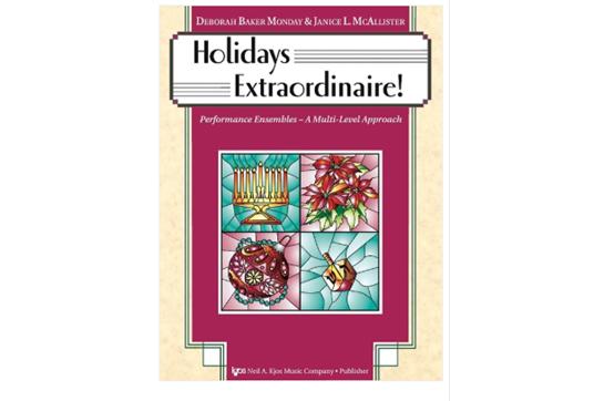 Holidays Extraordinaire! (Violin)
