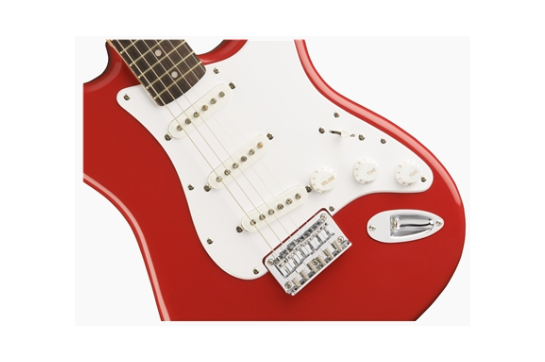 Squier Bullet Strat HT Electric (Laurel, Fiesta Red)