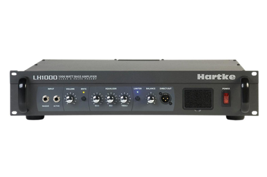 Hartke LH1000 1000 Watt Hybrid Bass Amp Head