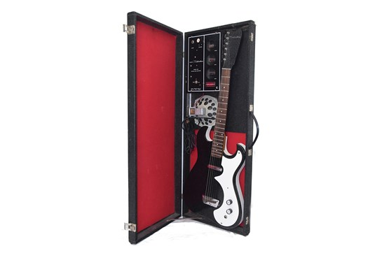 Silvertone 1448 Guitar with Tube Case Amp