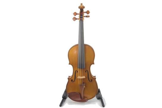 Violin, 1990 Labeled, Joannes Crucis Finnanzza, Fecit Anno 1990, Sao Paulo Brasil