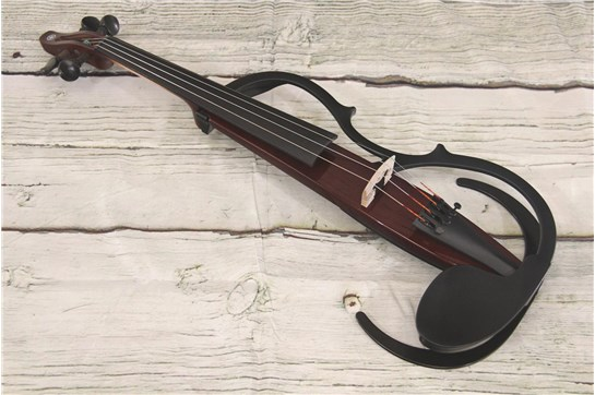 Used Yamaha Silent Violin YSV104 Brown