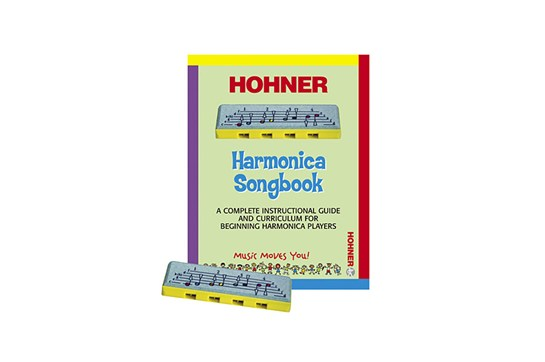 Hohner Kids PL106 Learn to Play Harmonica Set