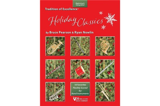 Tradition of Excellence: Holiday Classics Bassoon/Trombone/Baritone B.C
