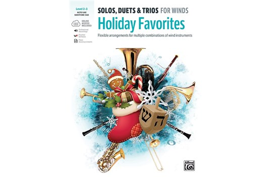 Solos, Duets & Trios for Winds: Holiday Favorites - Alto/ Baritone Saxophone