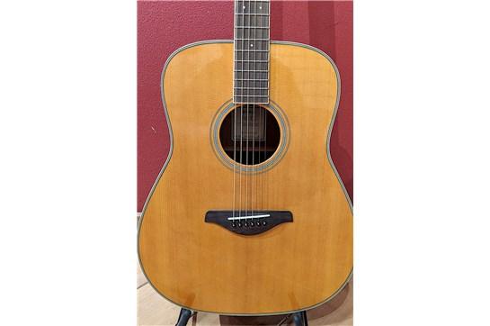 Used 2019 Yamaha FS TransAcoustic Guitar - Vintage Tint