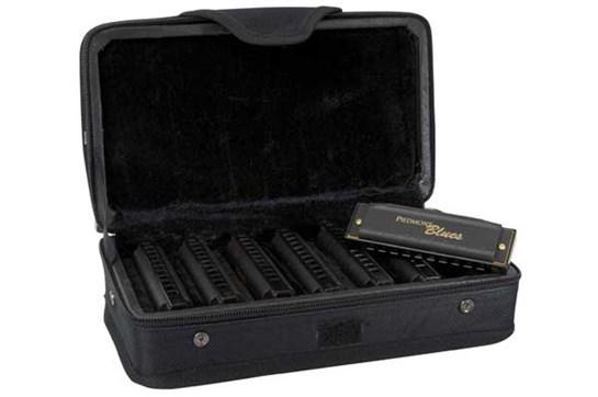 Hohner PBH7 Piedmont Blues Harmonica Set (7 Harmonicas with Case)
