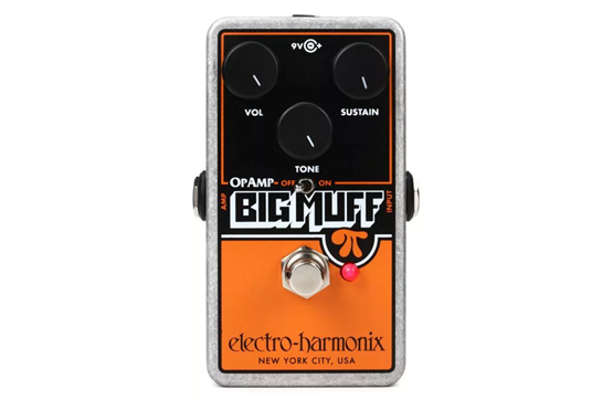 Electro Harmonix Op-Amp Big Muff Pi Distortion/Sustainer