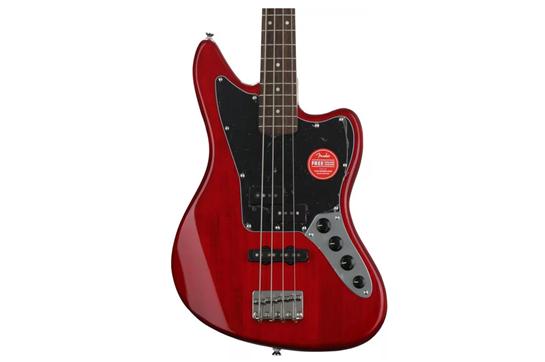 Squier Vintage Modified Jaguar Bass Special (Laurel, Crimson Red)