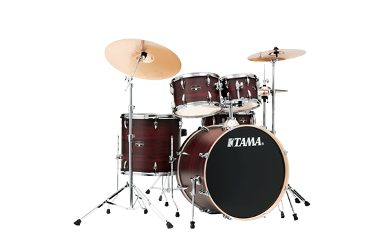 Tama Imperialstar Drum Set (Burgundy Walnut Wrap)