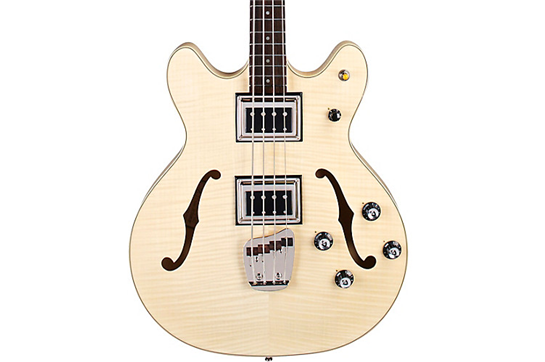 Guild Starfire II Flamed Maple Bass (Natural)