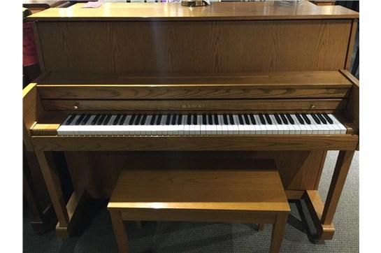 Kawai 506S Acoustic Upright in Satin Oak - Used