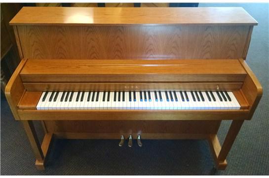 Used Kawai 506S Oak Upright Piano