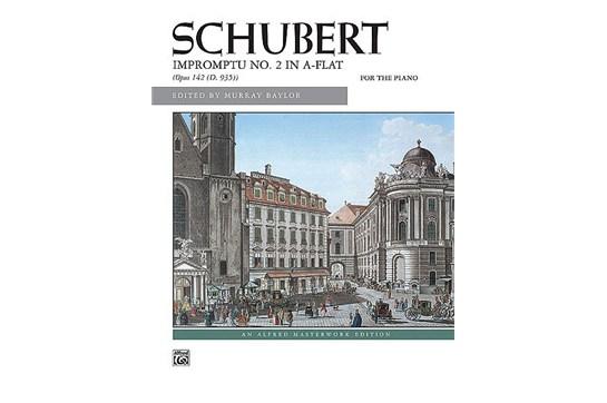 Impromptu, Op. 142, No. 2 - Piano Solo (7111A45)