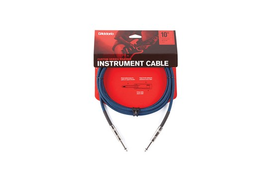 Planet Waves Braided Instrument Cable Blue