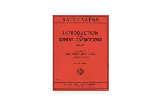 Introduction & Rondo Capriccioso Opus 28 2 Pianos 4 Hands