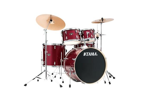 Tama Imperialstar Drum Set (Candy Apple Mist)