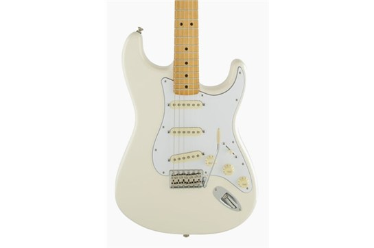Fender Jimi Hendrix Stratocaster (Olympic White) - Maple Neck