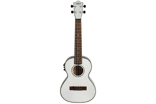 Lanikai Julia Michaels Tenor Ukulele w/pickup - White Pearl
