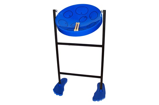Panyard Jumbie Jam Deluxe Steel Drum Kit (Blue)