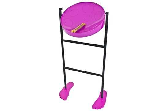 Panyard Jumbie Jam Deluxe Steel Drum Kit (Purple)