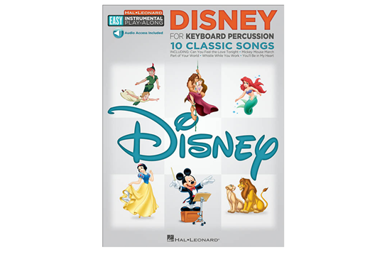 Disney Easy Instrument Play Along (Percussion)
