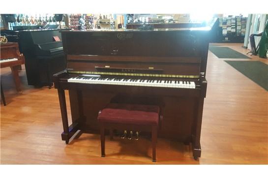 Used Kawai K25 Mahogany Upright Piano