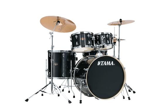 Tama Imperialstar Drum Set (Hairline Black)