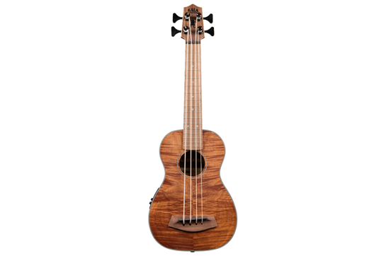 Kala Exotic Mahogany U-Bass w/ Round Wounds