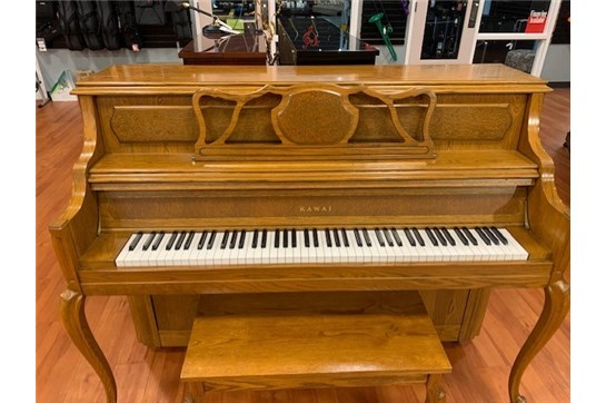Used Kawai 706 Upright in Oak