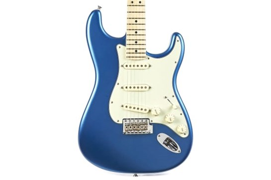 Fender Am Performer Stratocaster Electric - Satin Lake Placid Blue