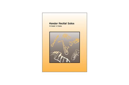 3121C14 Kendor Recital Solos (Flute)