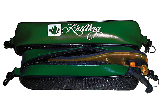 Knilling Deluxe Large Shoulder Rest Pouch (Green)