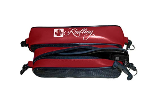 Knilling Deluxe Large Shoulder Rest Pouch (Brick Red)
