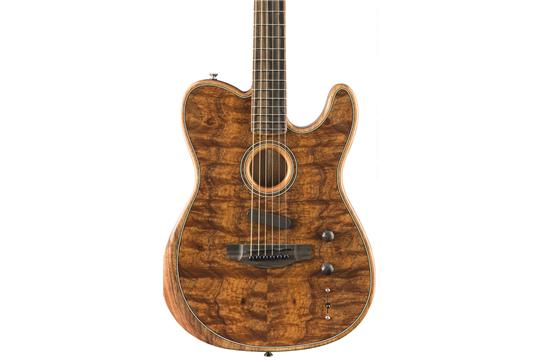 Fender American Acoustasonic Telecaster (Exotic Koa)