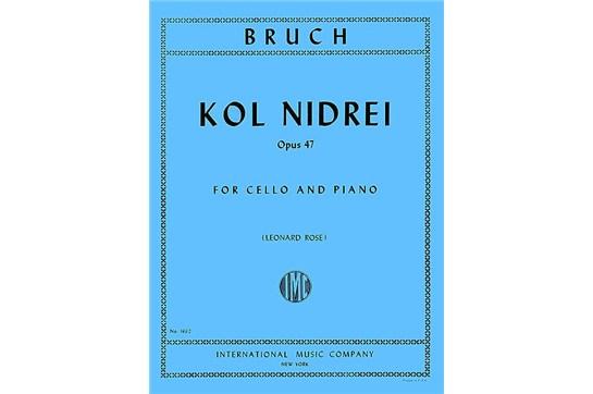 Kol Nidrei, Op. 47 for Cello