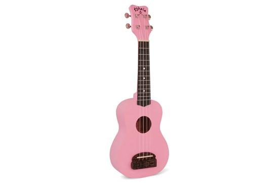 Kohala Tiki Soprano Ukulele - Pink