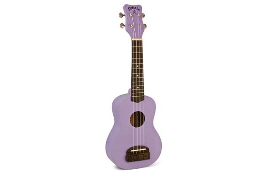 Kohala Tiki Soprano Ukulele - Purple