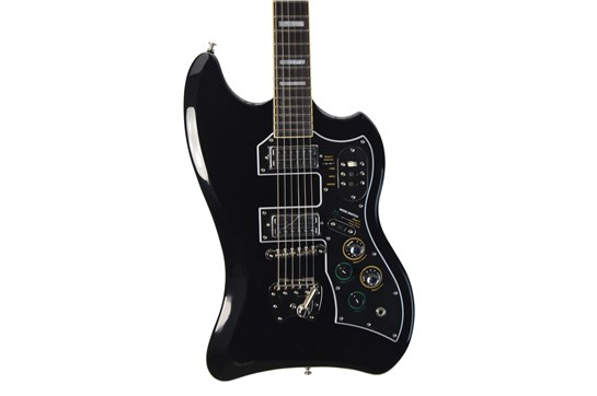 Guild S-200 T Bird Black with gig bag (used)